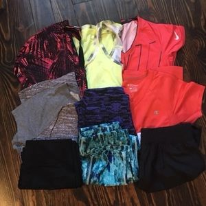 Women's size Small workout Bundle